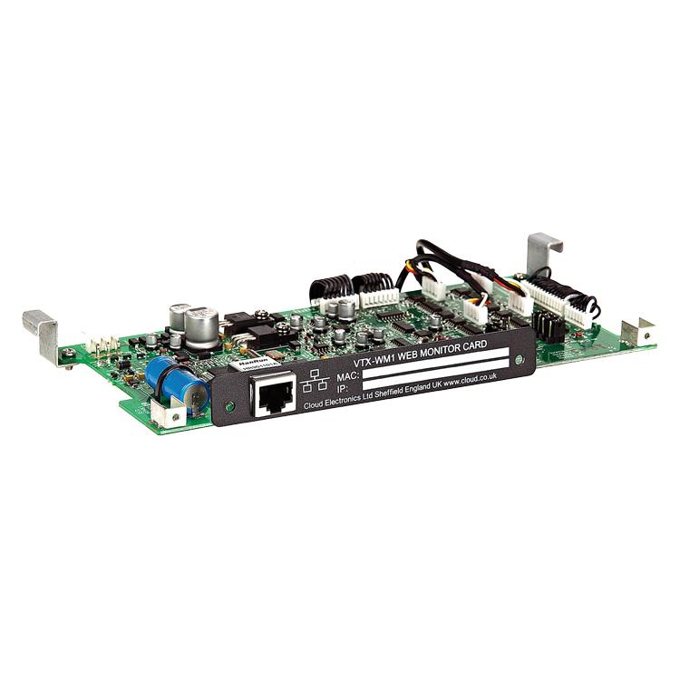 VTX-WM1 Web Monitor Card - VTX Amp Series