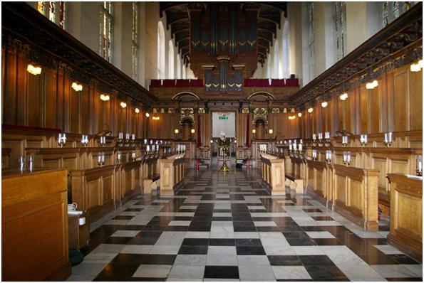 Trinity College, Cambridge, UK