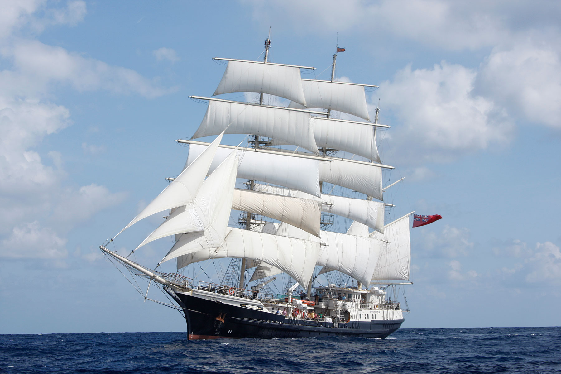 Cloud Support Jubilee Sailing Trust - Tenacious Project