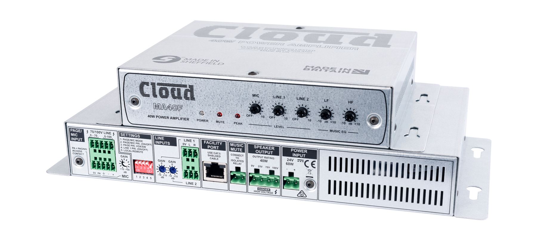 MA40 Series Mini Amplifiers - New Models Shipping from Cloud for ISE 2017