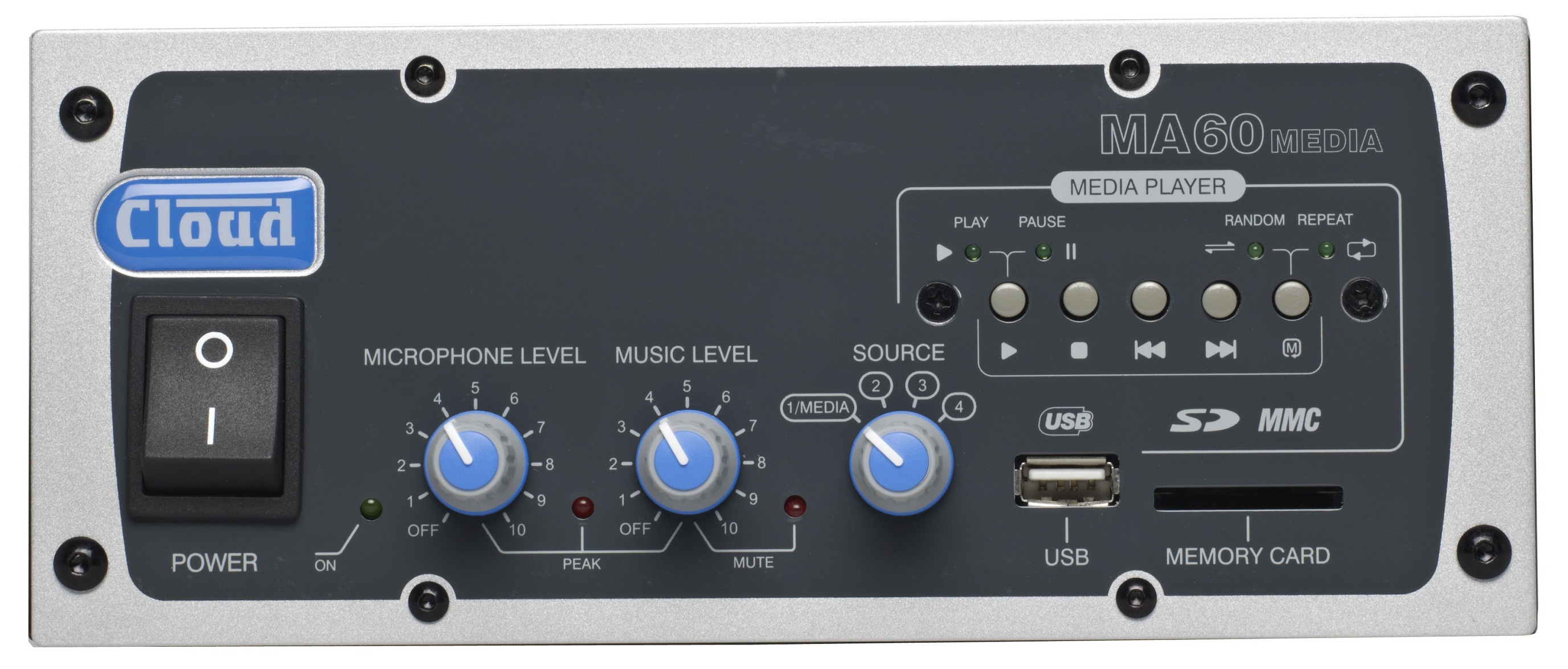 New MA-60 / MA-60 Media Mixer Amplifier - Now Shipping