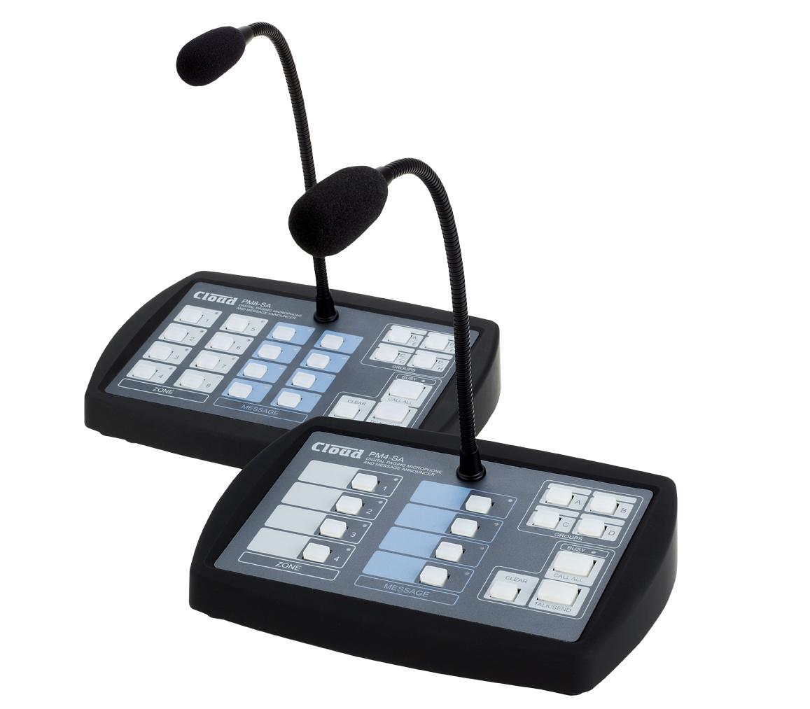 New PM-4SA / PM-8SA Paging Microphones - Shipping Imminently