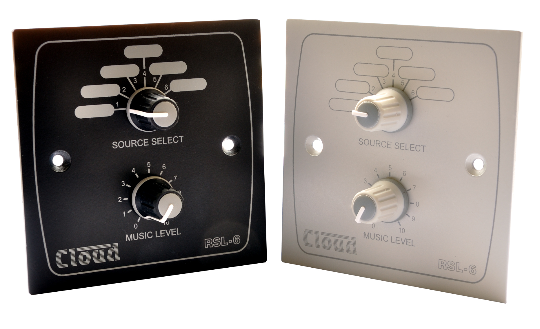 Cloud RSL-6 - Available in Black or White Finish from October 2012