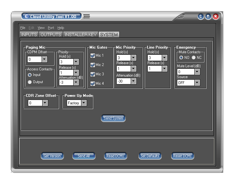 Cloud DCM-1 Mixer gets new Set Up and Back Up Utility Tool