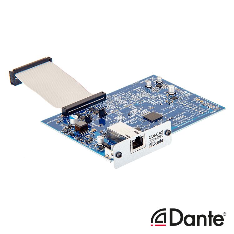 CDI-CA2 Optional 2ch Dante Card for CA Amplifier