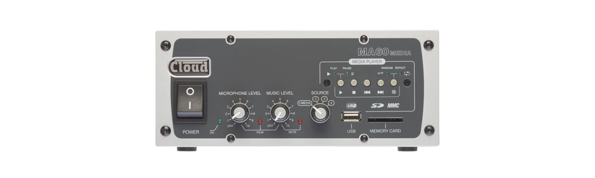 MA60Media Mixer Amplifier