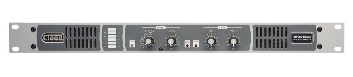 MPA240MK2 240W Integrated Mixer Amplifier