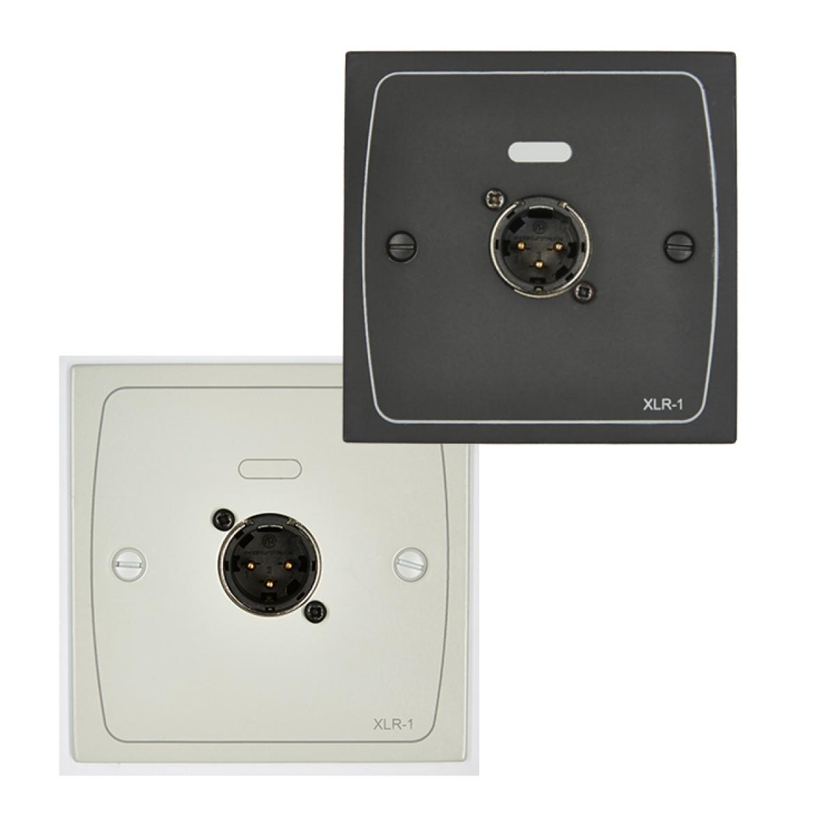 XLR-M1W & XLR-M1B XLR Input Module - White / Black - Male