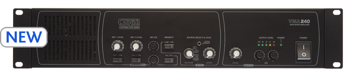 VMA240 Mixer Amplifier