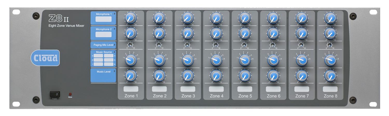 Z8ii 8 Zone Mixer