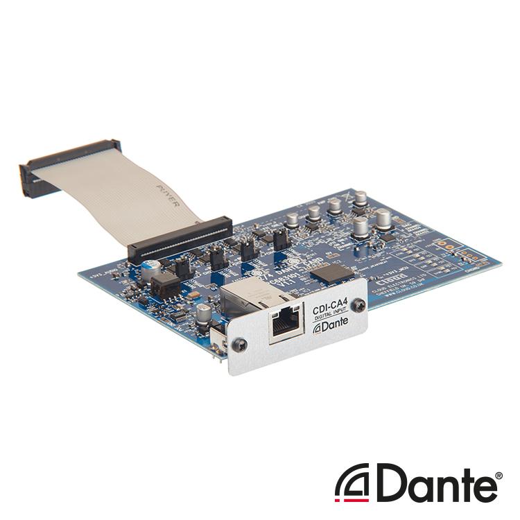 CDI-CA4 Optional 4ch Dante Card for CA Amplifier