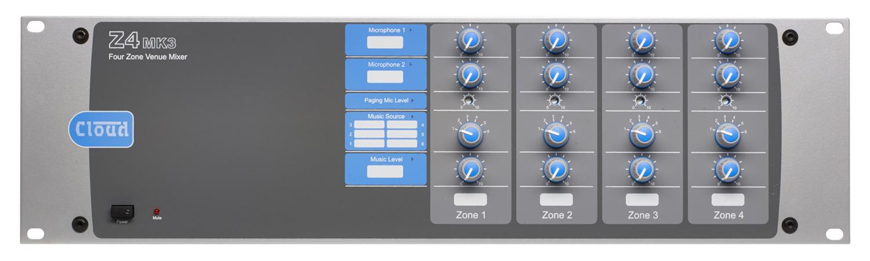 Z4MK3 4 Zone Mixer