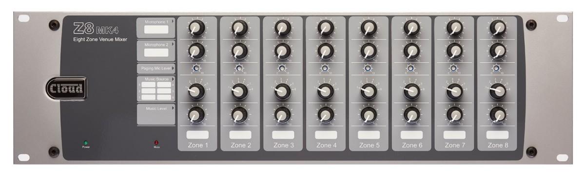 Z8MK4 8 Zone Mixer