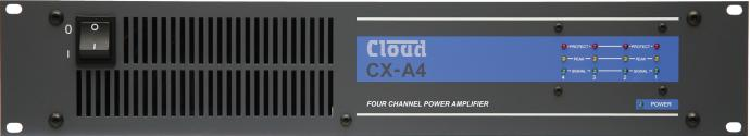 CXA4 4 Channel Power Amplifier