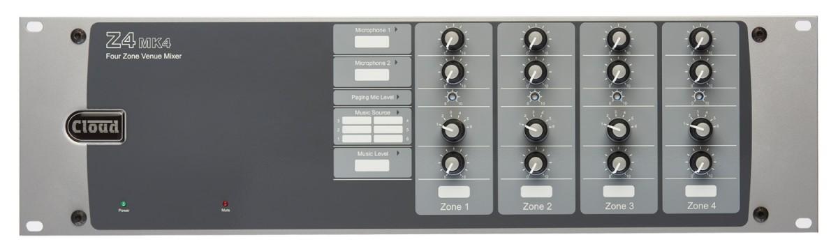 Z4MK4 4 Zone Mixer